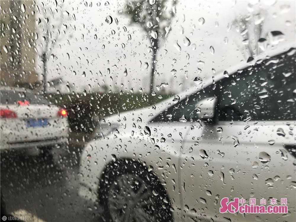 4月9日,泉城济南迎来一场降雨,清晨6时的济南气温跌至4℃。市民纷纷重新穿起羽绒服,迎接大风降温天气。根据气象预报,8日夜间到9日上午有中雨,今天下午有小雨,夜间转多云。本次降雨过程平均降水量10-20毫米,南部降水量大于北部。<br/>