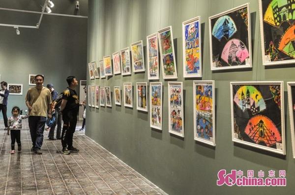 童话之星幼儿作品 童画视界 300余件幼儿作品6月1日在青岛美术馆展出
