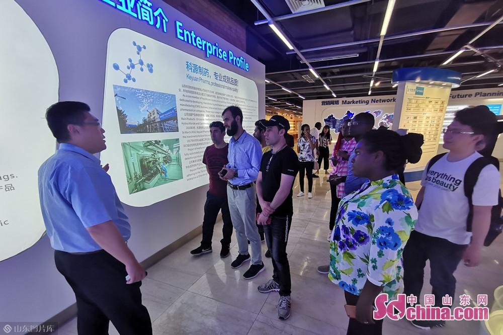 このほど、山東大学からの20人余りの留学生は済南市に位置するLinuoグループを訪れ、Linuo展覧館、Linuo Ritter(リノリッター)の工場、宏済阿膠の荘、宏済堂博物館などを見学し、中国の現代工業、経済、文化の発展を深く理解し、中国の漢方文化を体験した。<br/>