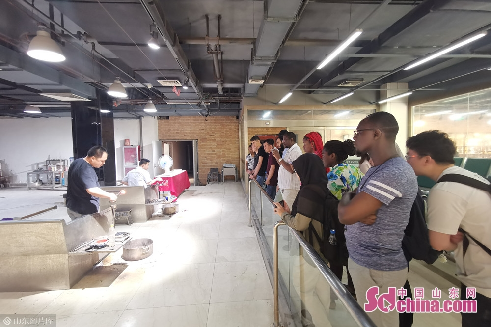 International students visit the manufacturing shop of Linuo Ritter Group. Recently, more than 20 international students paid a visit to Linuo Ritter International Co. Ltd. to get an in-depth understanding of China&rsquo;s contemporary industrial, economic and cultural development as well as the traditional Chinese medicine.<br/>
