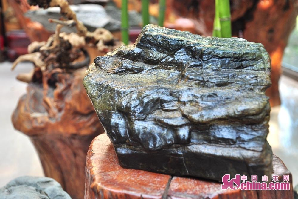 <br/>  &ldquo;路漫漫其修远兮,吾将上下而求索&rdquo;对苏中仓而言,对石雕艺术领悟的越深刻,对该艺术的探索便越发虔诚。如何通过崂山绿石雕刻作品进行自我艺术表达,且将崂山绿石籽料本身优点发挥到极致,成为苏中仓绕不开的艺术命题。破题之旅虽满是艰辛,但心怀艺术追求的苏中仓并不孤独。所谓不破不立,后来性格坚毅的苏中仓决然选择摒弃了此前学习及模仿的所有雕刻手艺,重新认识崂山绿石。<br/>