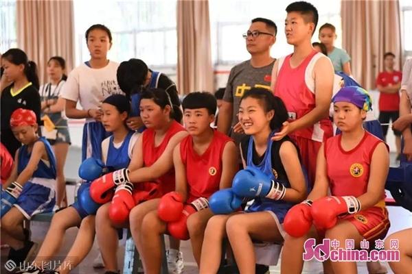 兩天226場次 濰坊市第二十屆運動會拳擊比賽閉幕