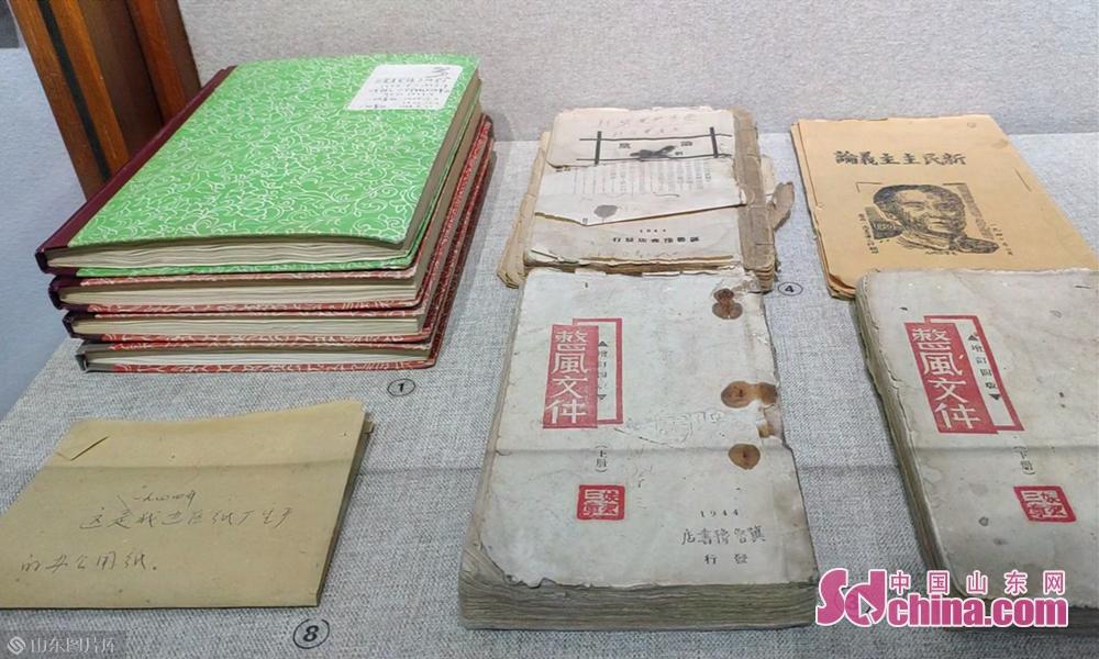 边区纸厂生产的办公用纸以及整风文件<br/>