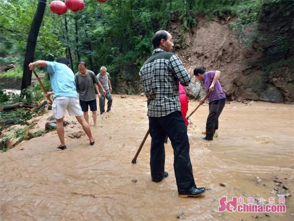 <br/>  珍珠村利用抽水机及人工疏通等措施,协助群众排水排涝,帮助群众恢复正常生产生活秩序。<br/>