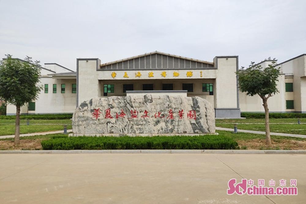 <br/>  采访团走进无棣华夏海盐文化博物馆。<br/>