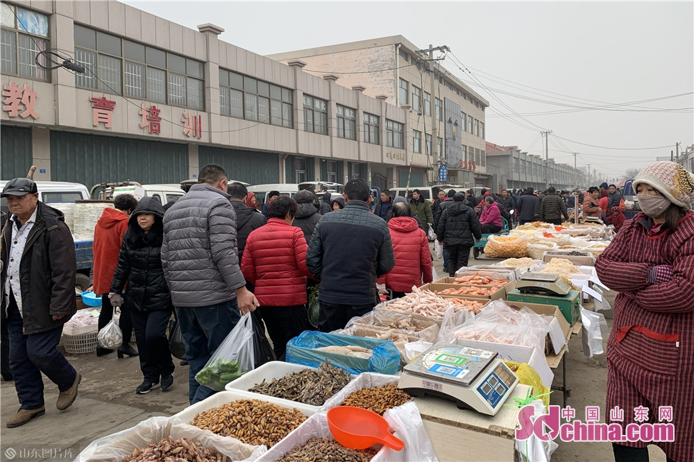 <br/> 腊月二十九,正值潍坊市坊子区南流镇春节前的最后一个南流大集,临近春节,使得这个年集更加热闹。<br/>