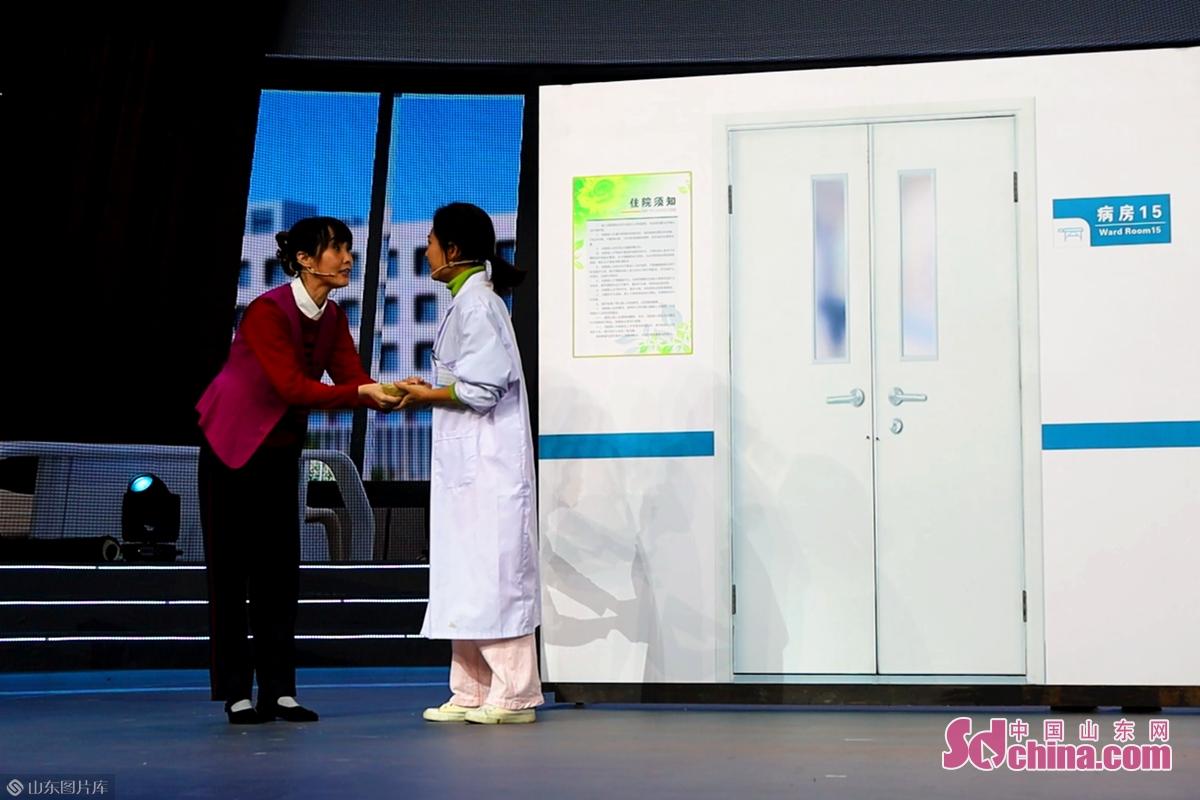 <br/>  在第二篇章&ldquo;诚实守信&rdquo;中,情景剧《谢谢你》讲述了家政人杨秀梅在今年春节期间坚持为援鄂医生护理年迈的母亲的故事。<br/>