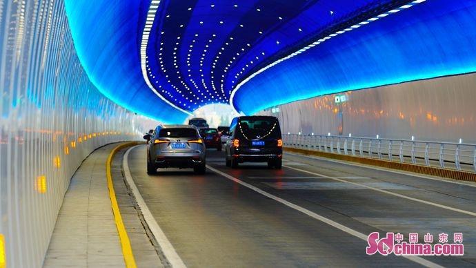 """济南又多一条""""星光隧道"""" 转山隧道改造提升工程完工"""