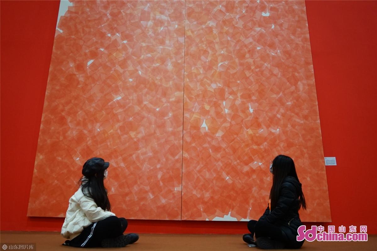 <br/>  桑火尧表示:&ldquo;这是我第一次参加中国画节。我认为中国画节是弘扬中国画的一个很好的平台。<br/>