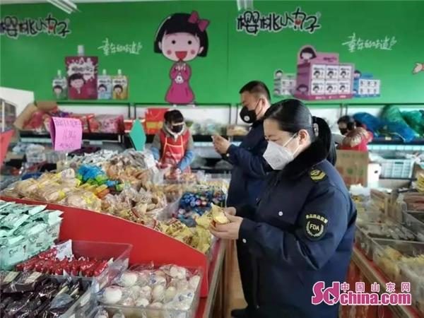 """山东滨州沾化区市场监管""""疫""""线娘子军"""