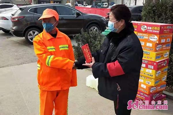 兖州:六旬保洁员捐款5000元抗疫 称把钱留给有用的人