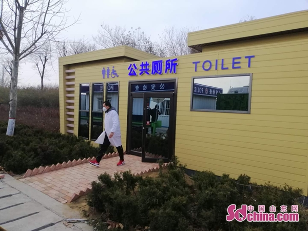 """山东省青岛市南泉检疫点""""冒出""""个公厕"""