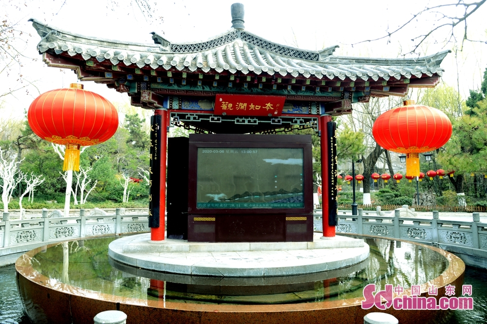 <br/>  近日,济南趵突泉迎春景色。<br/>