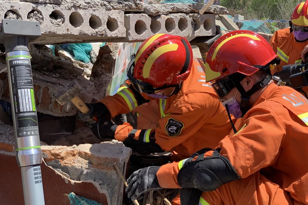 青岛市2020年地震应急救援综合演练举行