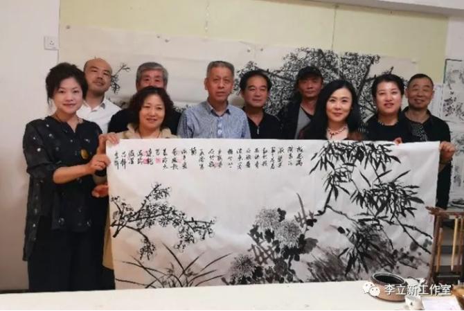 师生情·翰墨缘——花鸟画名家李立新师生书画联谊会成功举办