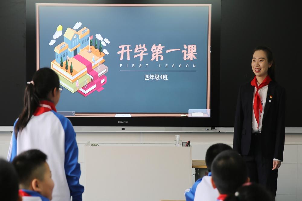 青岛小学段3—6年级迎来集中复学