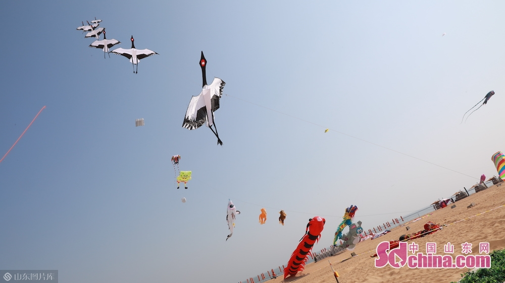 <br/>  &ldquo;五一&rdquo;期间,潍坊滨海欢乐海沙滩旅游度假区按有关规定限流,景区内人流疏密有序,其乐融融。