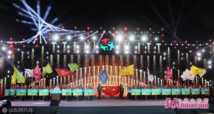全民动员全民参与! 山东省第十届全民健身运动会开幕