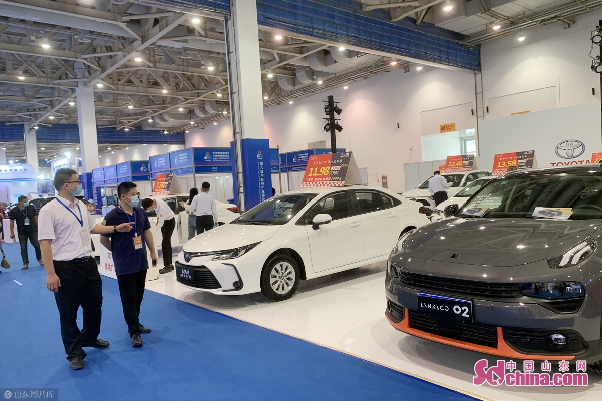 The sixth China-Japan-Korea Industries Expo kicked off in Weifang, east China&rsquo;s Shandong Province, on Sept. 25, 2020. 1,036 enterprises attended the expo. The expo will last till Sept. 27.<br/>