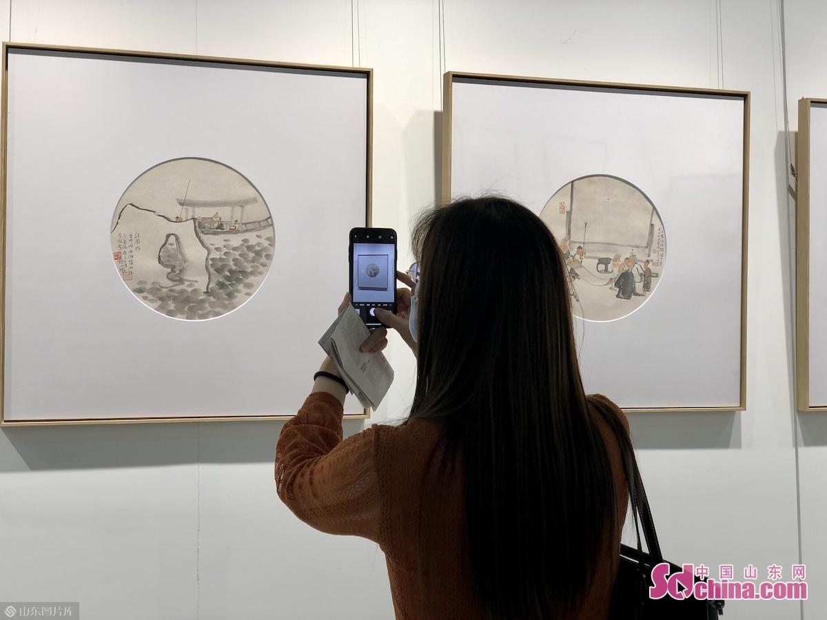 9월 29일 오전, 한묵 청주&middot;2020 중국서화연회는 유방 청주에서 개막됐다.<br/>
