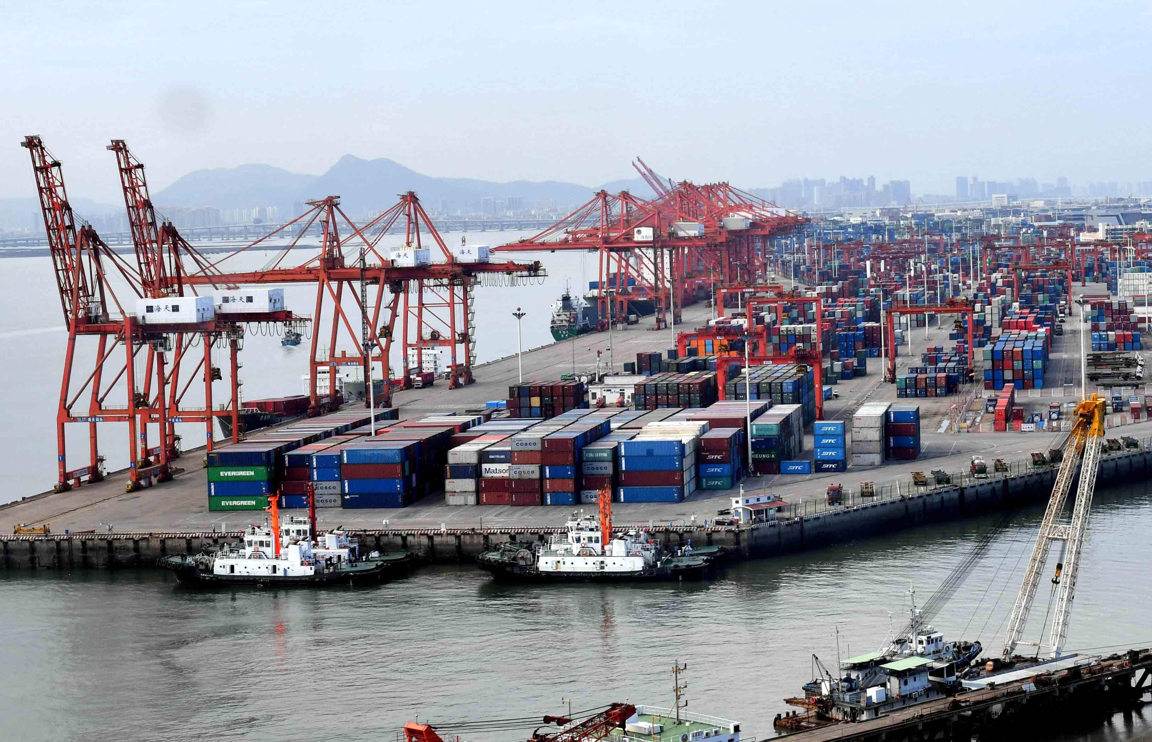 2020年1~8月山東省輸出入額の増加速度がプラス転換