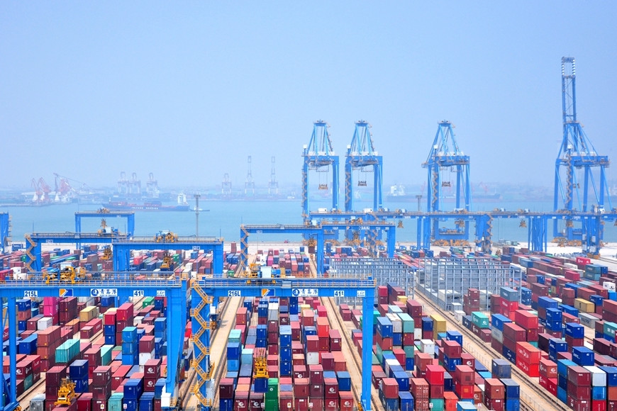 Shandong sees positive year-on-year growth rate in import and export