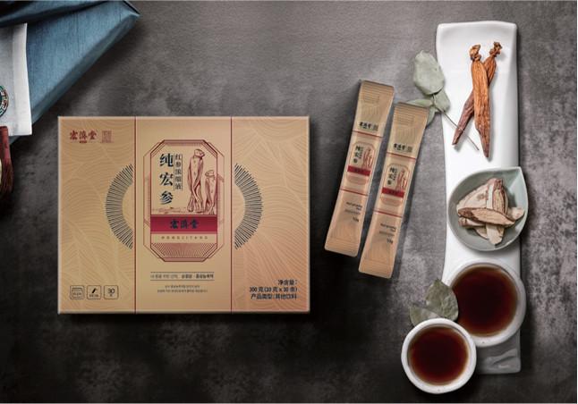 宏济堂健康产业甄选产品——纯宏参 重磅上市