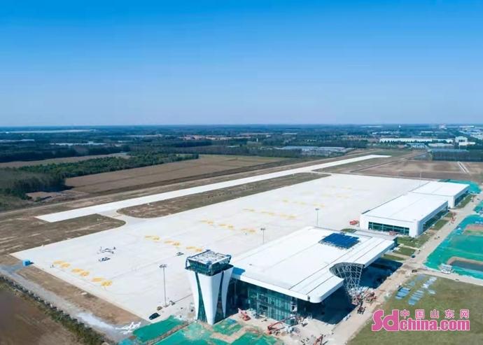《【迅达代理平台】济南商河通用机场首次试飞成功》