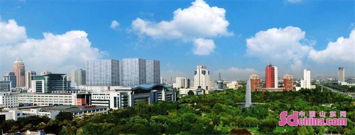 <br/>  俯瞰高新区。(通讯员 王盛利 张龙)