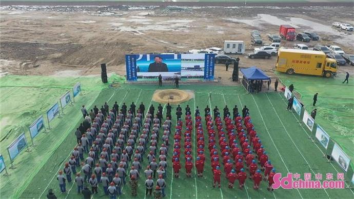 菏泽东明县24个重点项目开工建设  计划总投资168亿元