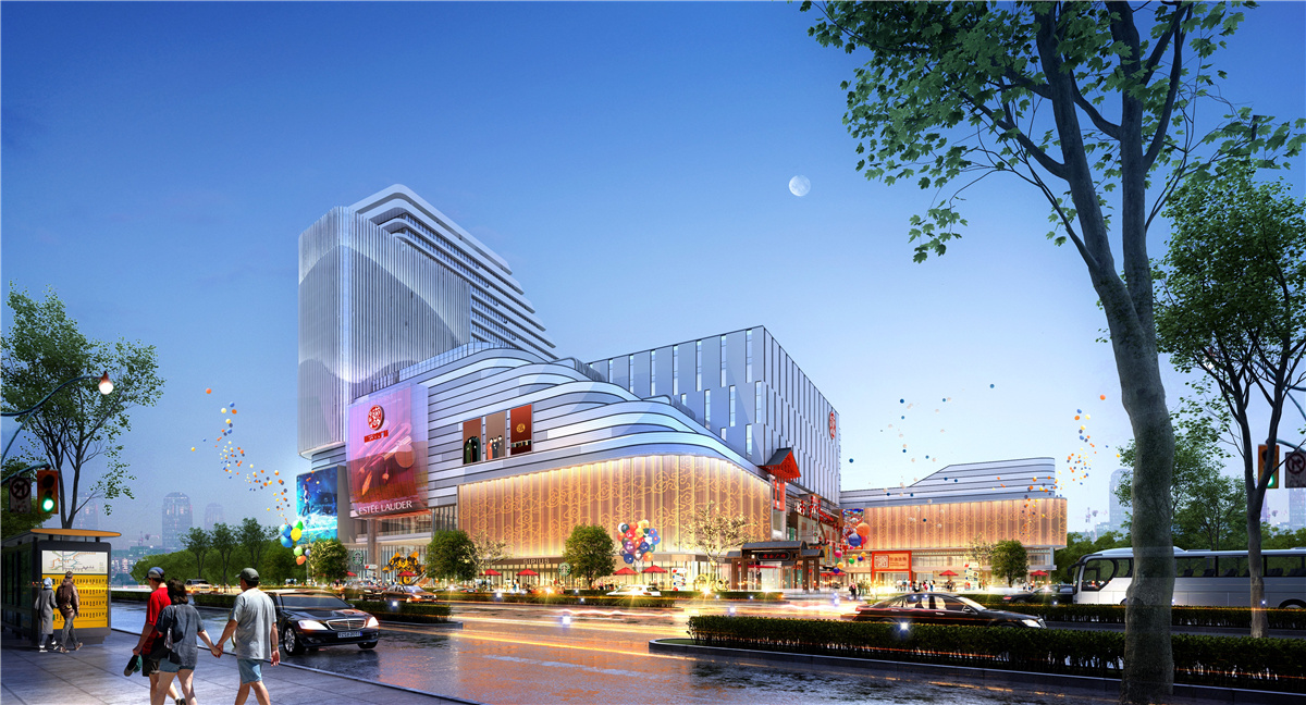 <br/>New renderings of the Shandong Deyun Culture Square were unveiled. The project construction was officially launched on the morning of March 28, 2021 and is expected to be completed and put into use by the end of next year.