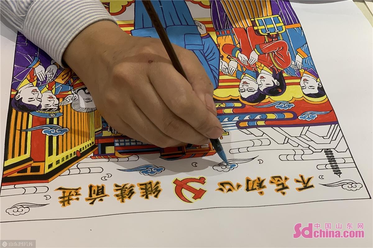 <br/>  以年画为代表的非物质文化遗产是中华文化的瑰宝,在灿烂辉煌的中华文化谱系中占有重要位置。<br/>