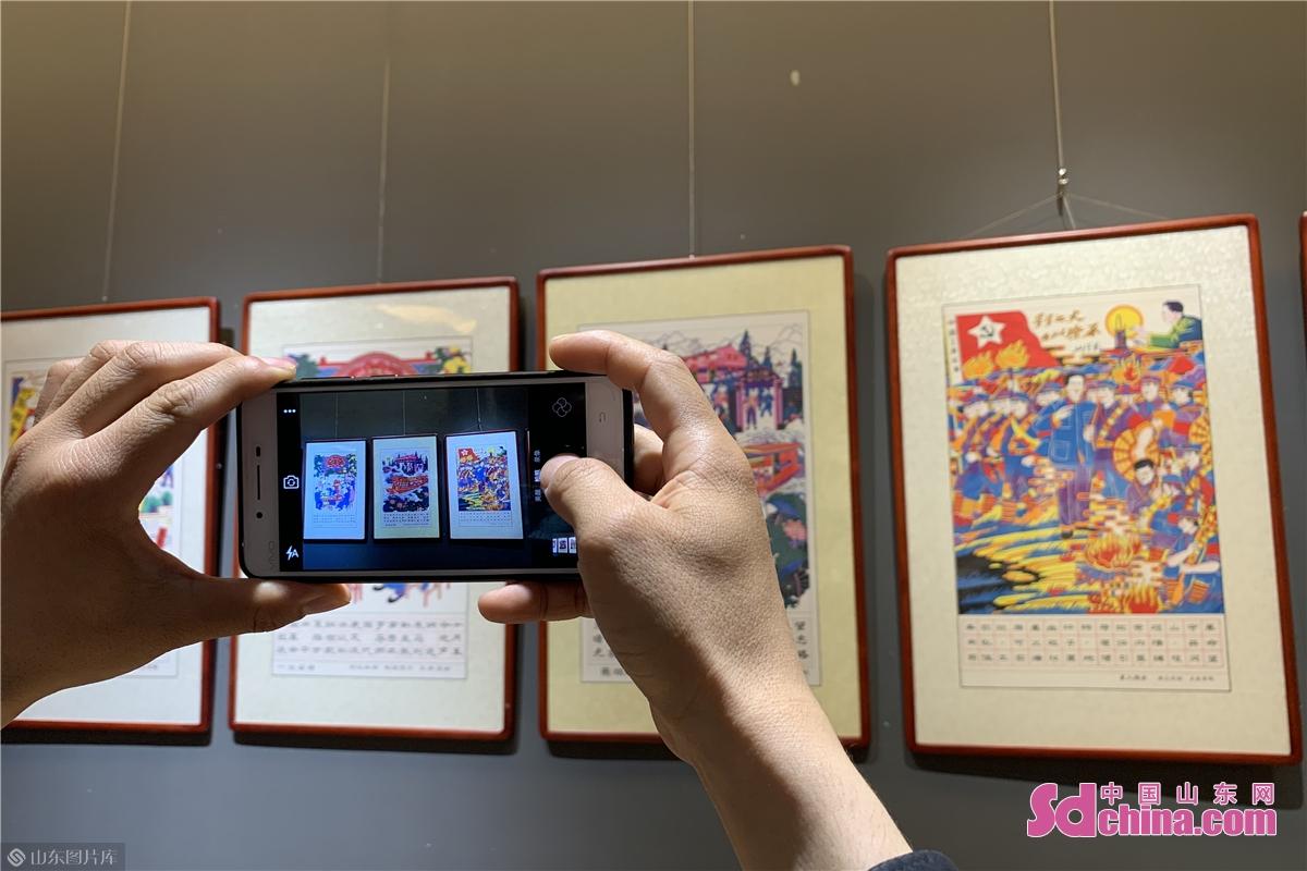 <br/>  据了解,本次展览为胶东五市年画的综合展,主题为庆祝中国共产党成立100周年。<br/>
