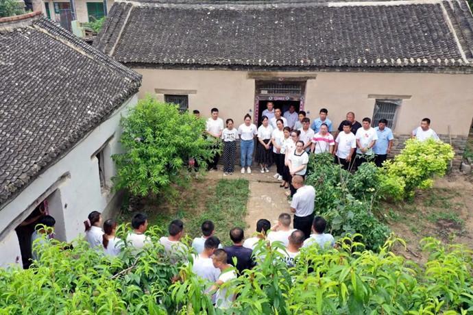 探访成武县第一个农村党支部诞生地