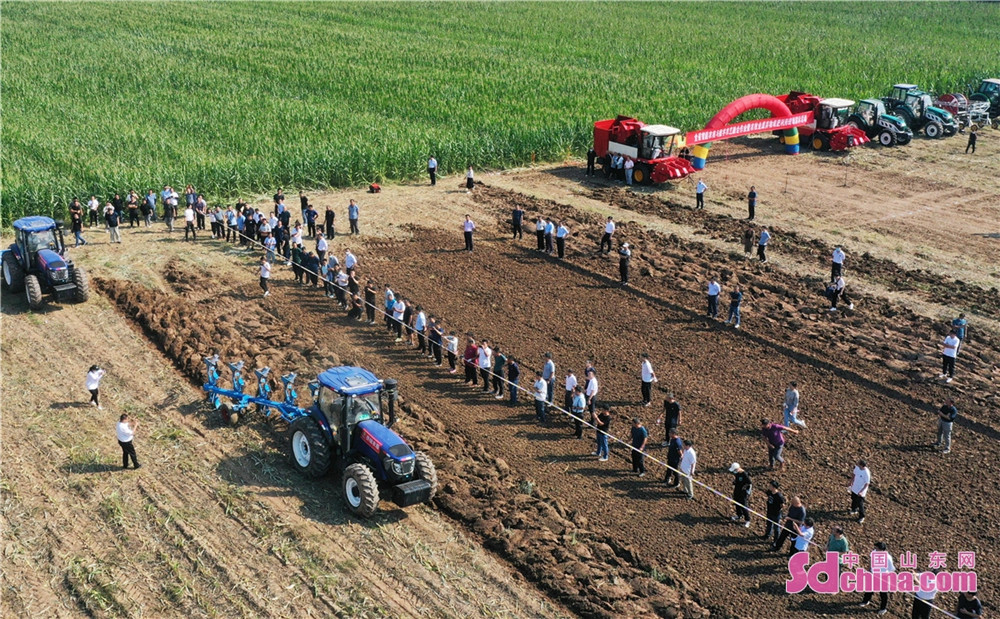 산동성 추평시에 스마트 농업기계와 디지털 농업 융합 작업 전시는 옥수수 표준화 농밭에 거행했다. 현장 약 200명 전시활동을 구경했고 농업기계의 스마트 발전은 농업 생산의 자동화 규모화 표준화 발전을 촉진하고 가을 식량 수확을 확보하여 향촌진흥에게 힘을 낸다.<br/>