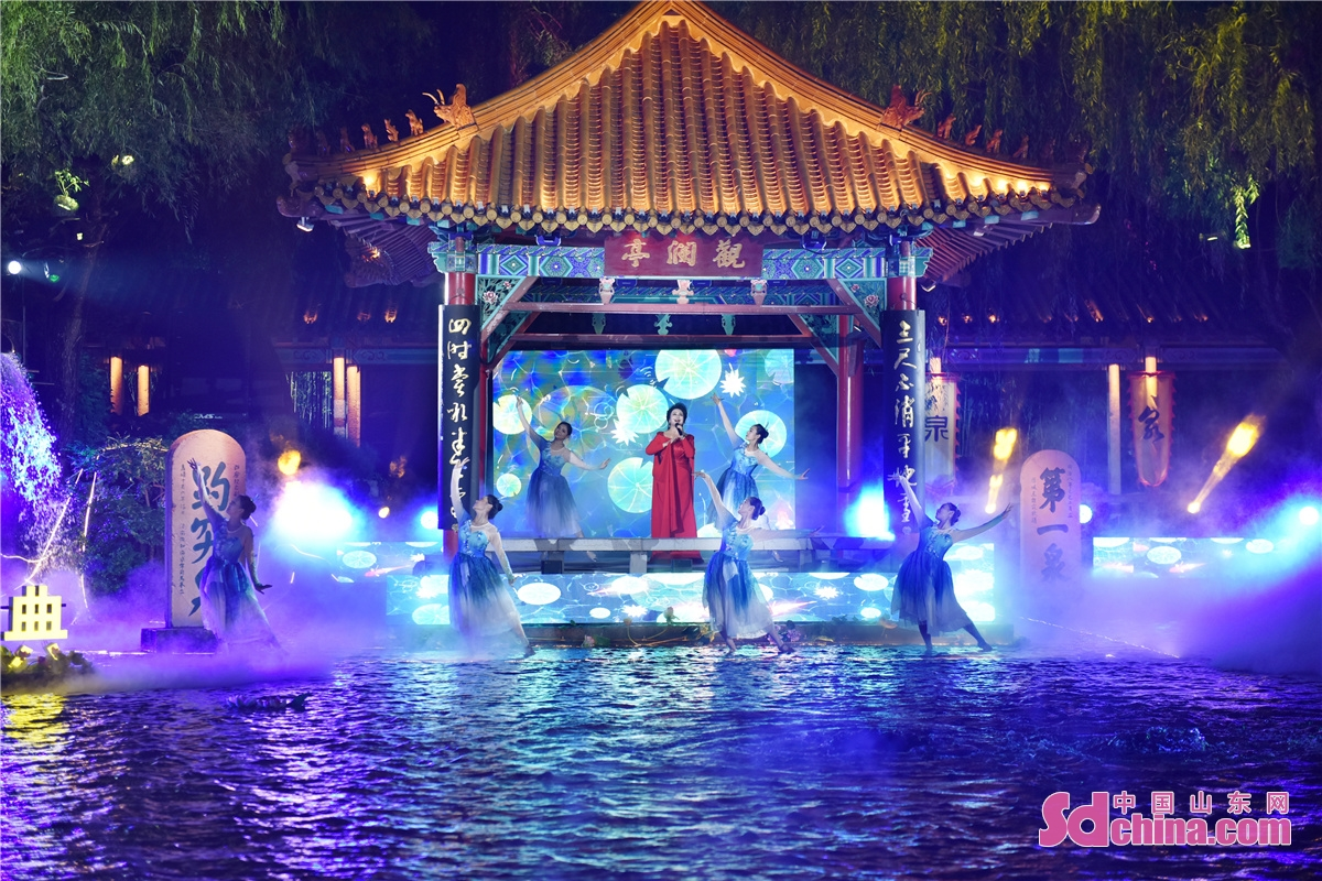 The 2021 Spring Worship Grand Ceremony and the launching ceremony of the ninth Jinan Interantional Spring Festival was inaugurated in Baotu Spring Scenic Spot in Jinan, capital of China's Shandong province.