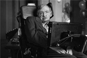 新闻人物 霍金:方寸轮椅 无垠宇宙