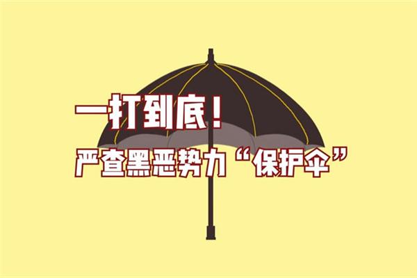 一打到底!严查黑恶势力保护伞