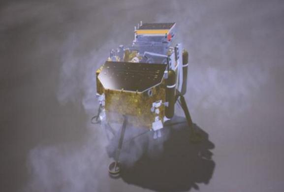 中国成功实现人类探测器首次月球背面软着陆