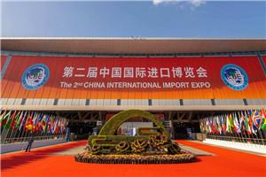 上海 第二届进博会举行国家展延展