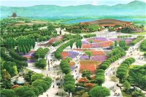 北京 魅力世園會 北京世園會園區基本建成