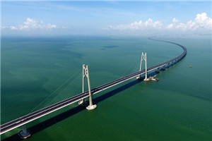 新中国的第一 世界最长的跨海大桥:港珠澳大桥