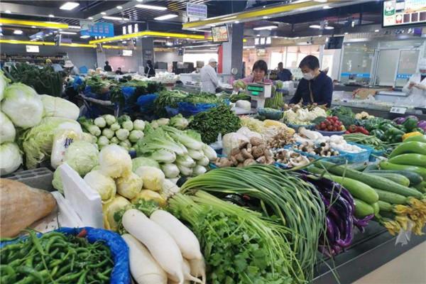 舌尖上的保障 菜价持续回落 保供措施成效显现