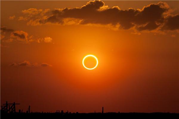 6月21日有日环食 观测需做好防护 避免眼睛灼伤