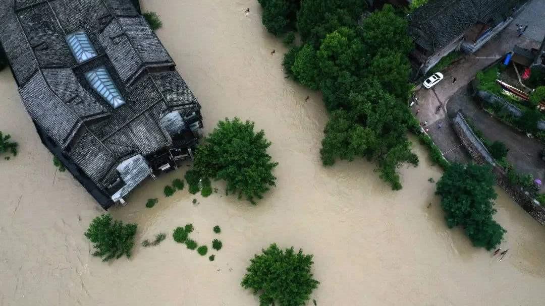全国仍有98条河流水位超警
