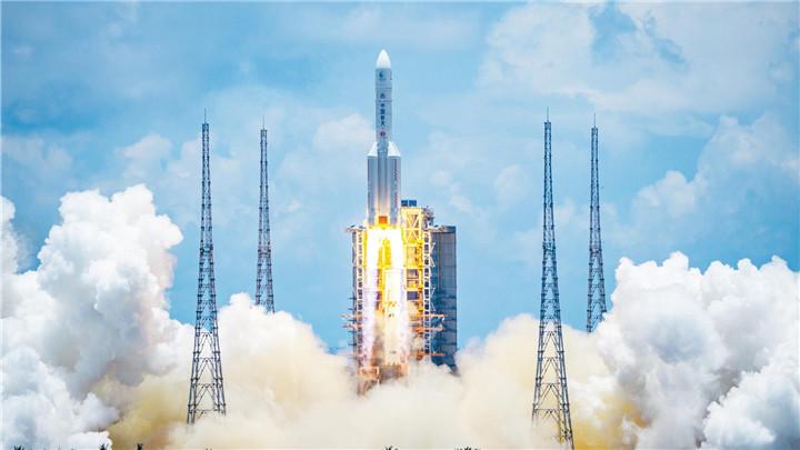 中国首次火星探测任务探测器成功发射