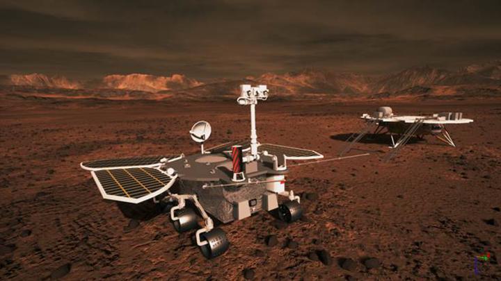"""我国首次火星探测任务 """"天问一号""""状态良好"""
