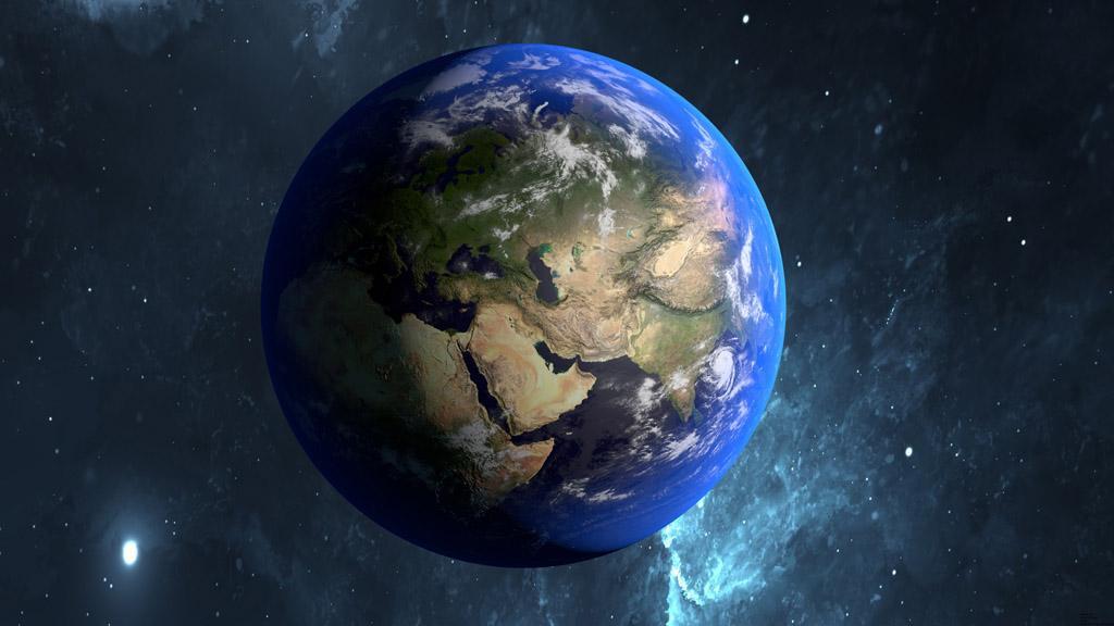 """我国发布全球地表最新""""快照""""并赠联合国"""