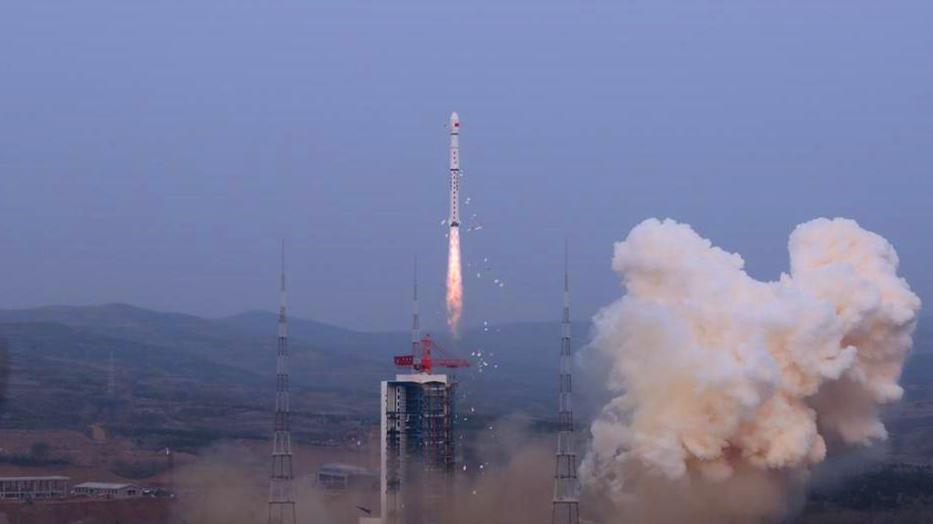 太原卫星发射中心 我国成功发射试验六号03星