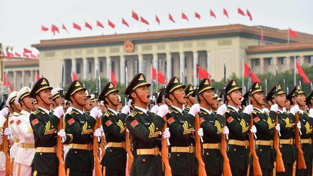 慶祝中國共產黨成立100周年大會 這就是中國排面